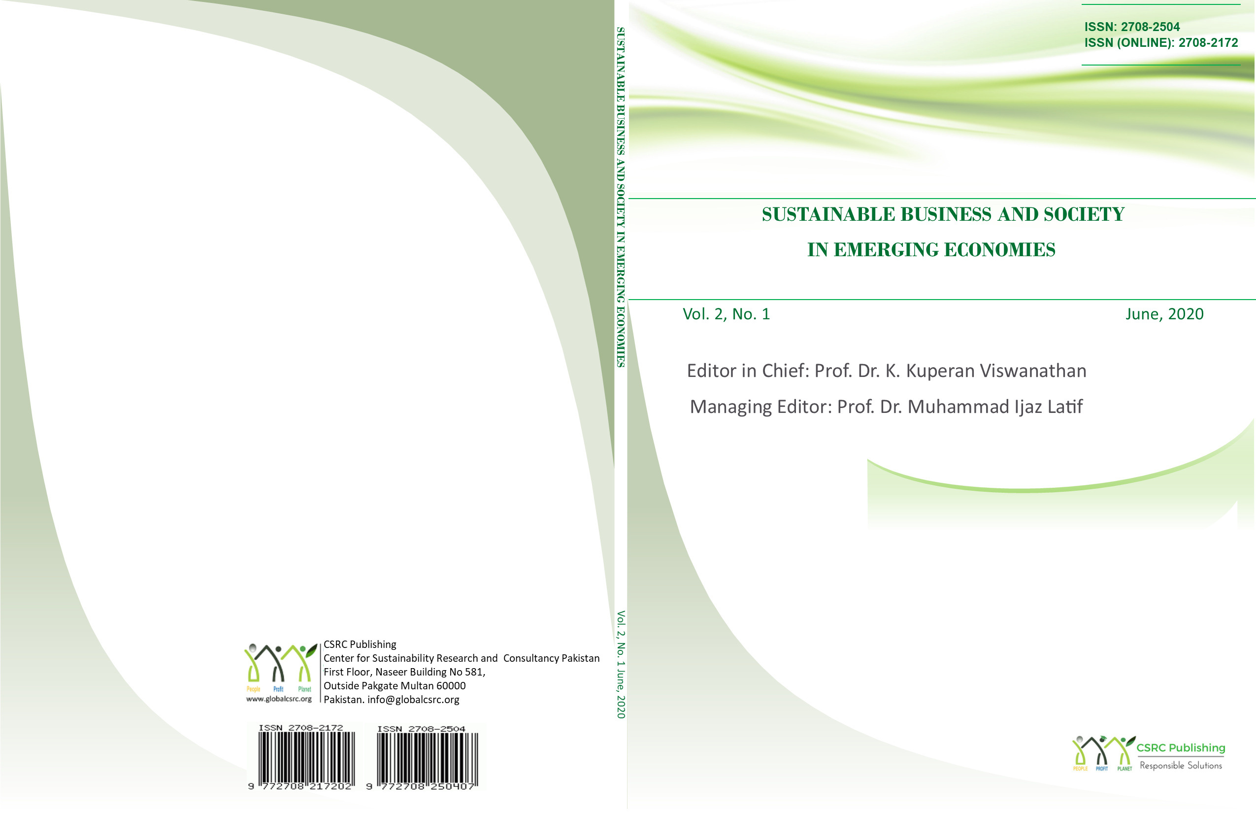 Sustainable Business and Society in Emerging Economies
